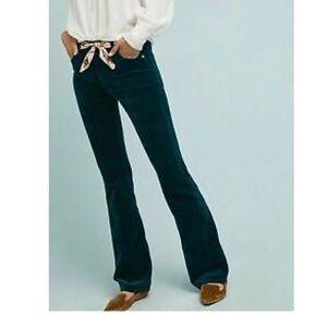 Pilcro High Rose Boot Cut Corduroy Pants